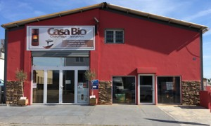 Show-room de l'équipe Casa Bio de Bastia