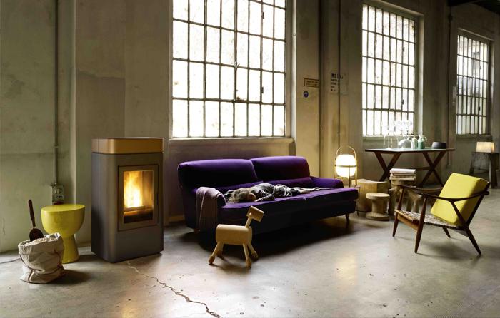 gamme de po le granul s de bois silencieux pour un. Black Bedroom Furniture Sets. Home Design Ideas