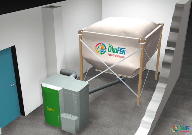 pellematic de okofen casa bio. Black Bedroom Furniture Sets. Home Design Ideas