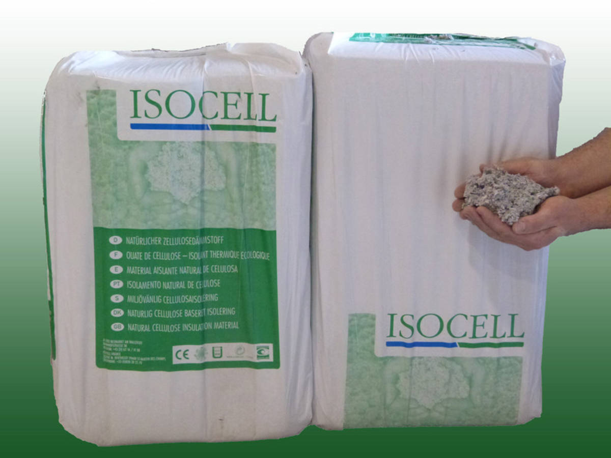 ouate de cellulose soufflage en vrac pour combles de isocell casa bio. Black Bedroom Furniture Sets. Home Design Ideas